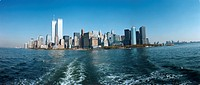 Kopia FOTO: Bengt Af Geijerstam COPYRIGHT BILDHUSET, Manhattan Skyline Seen Across Water