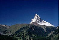 Matterhorn, Snowcapped Mountains, Low Angle View