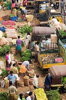 Early Morning Market, Trivandrum, Kerala, India