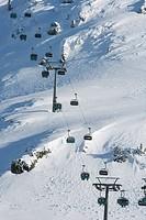 Galtur chairlift, Austria, Europe