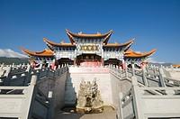 Chongsheng Temple in Dali Town, Yunnan Province, China, Asia