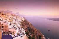 Fira, Santorini Thira, Cyclades Islands, Aegean Sea, Greece, Europe