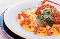 Lobster And Shellfish Dish