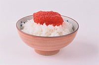 Rice Dish Topped With Roe