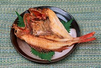 Baked Fish On Plate