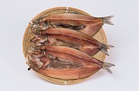 Dried Herrings On Plate