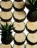 Sliced Pineapples