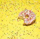 Doughnut with Missing Bite (thumbnail)