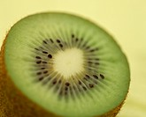 The Round Slice Of A Kiwi