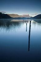 Lago Espejo, Siete Lagos region, Nahuel Huapi National Park, Rio Negro, Argentina, South America