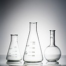 Glass science containers