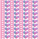 repetition, wallpaper, background, pink, heart, indoors, pattern
