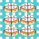 indoors, wallpaper, background, dounut, bread, design arts, pattern