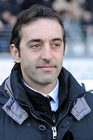 marco giampaolo siena trainer,torino 11_01_2009 ,serie a football championshup 2008_2009 ,juventus_siena 1_0,photo giuliano marchisciano/markanews