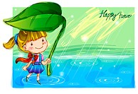 Imaginative, fairy tale, imagination, fancy, rain, nature (thumbnail)