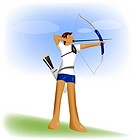 competition, player, athlete, Olympic games, Western_style archery, Olympic