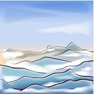 Cloud, season, sky, snow, winter, scenery, background (thumbnail)