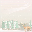 Foreset, season, snowing, snow, winter, tree, background (thumbnail)