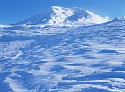 Mt. Asahidake In Winter