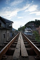 Railway tracks, Ping Si Branch Line, Taiwan