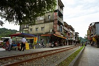 Shih Fen Main Street Scene, Taiwan