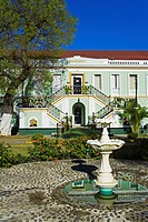Legislature Building, City of Charlotte Amalie, St. Thomas Island, U.S. Virgin Islands, West Indies, Caribbean, Central America