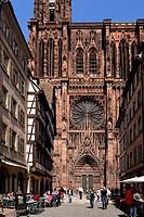 Notre Dame Cathedral, Strasbourg, Alsace, France, Europe