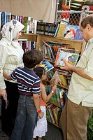 Florida, Miami, Miami-Dade College, Miami Book Fair International, Muslim, man, woman, girl, boy, family, mother, father, child, children´s literature...
