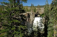10850755, Usa, Mammoth, California, Rainbow Falls,