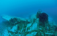 Fighter Plane Which Sleeps On The Seabed