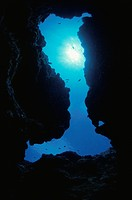 The Underwater Cave With The Boot Shape