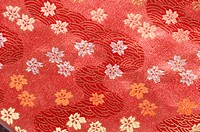 Floral Patterns On Cloth