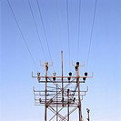 45X60 FOTO: Per B Adolphson COPYRIGHT BILDHUSET, Low Angle View Of Electricity Pylon