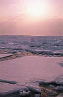 Drift Ice And The Morning Sun (thumbnail)