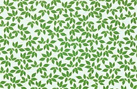 The Sheet Of Green Leaves