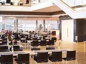Cafeteria in shopping mall Kulturens Hus i Luleå har ritats av den lokala arkitektfirman Tirsén & Aili. Inredningsarkitekter är Irene Aili och Karin G...