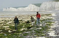 Seven Sisters Cliffs Sussex England