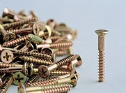 Close_up of screws