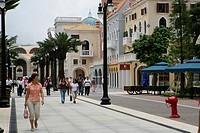 Wharf Boulevard, Fisherman´s Wharf, Macau