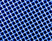 Polyester silk. Macrophotograph of a lattice of polyester silk fibres. This is a synthetic textile used in automotive interior trim, such as car seats...