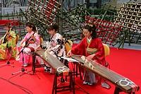 Musical performance at Roppongi Hills, Tokyo, Japan