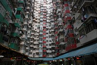Highrise condominium at Quarry Bay, Hong Kong
