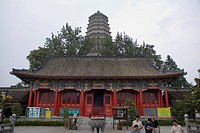Pagoda of Famen temple, Xian, China