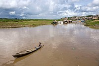 Boat on Uyacali River, Requena, Peru