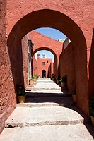 Santa Catalina monastery (16th century), Arequipa, Peru
