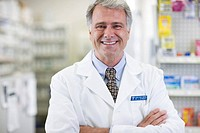 Pharmacist in Drug Store