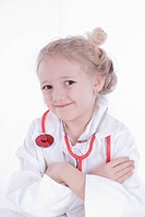 girl as a doctor