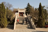Birth place of Xuanzang, Luoyang, Henan Province, China