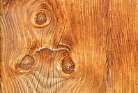 Detail of an old, weatherer wood board