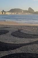 Beach, Copacabana, Pão de Açúcar, Rio de Janeiro, Brazil